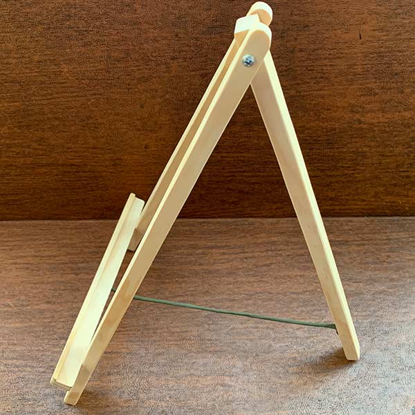 Wooden Tabletop Easel