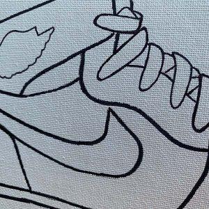 Sneakerheads Pre-Drawn Canvas Paint Kit