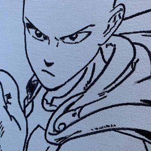 One Punch Man Saitama Pre-Drawn Canvas Paint Kit
